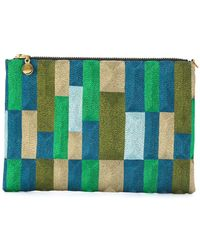 Anne Grand Clement - Patterned Clutch - Lyst