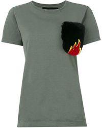 Mr & Mrs Italy - Pocket T-shirt - Lyst