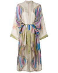 Mes Demoiselles - Longline Kimono Coat - Lyst