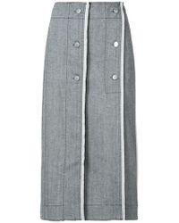 Derek Lam - Wrap Pencil Skirt - Lyst