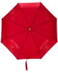 Moschino - Logo Detail Umbrella - Lyst
