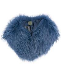 Mr & Mrs Italy - Racoon Fur Collar - Lyst