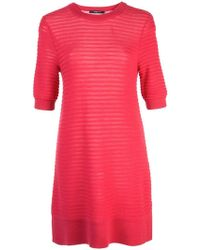 Derek Lam - Short Sleeve Silk Cashmere Knit Top - Lyst