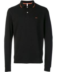 Sun 68 - Longsleeved Polo Shirt - Lyst