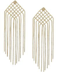 Rosantica - Fringed Drop Earrings - Lyst