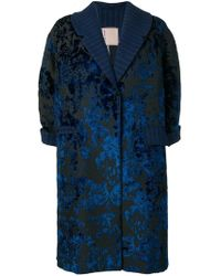 Antonio Marras - Floral Embroidered Coat - Lyst