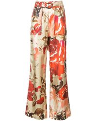 By. Bonnie Young - Utility Wide-leg Trousers - Lyst