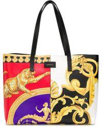 ee5f184084 Versace - Baroque-print Shoulder Bag - Lyst