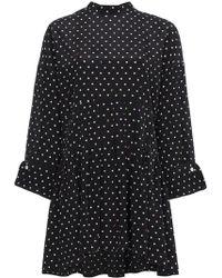 Sandy Liang - Polka Dot Dress With Rear Tie - Lyst