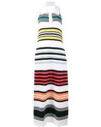 Rosie Assoulin - Rainbow Stripe Knitted Dress - Lyst