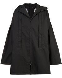Y-3 - X Layer Poncho Coat - Lyst