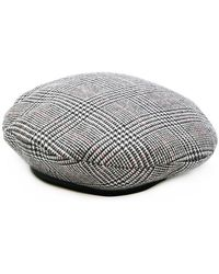 Don - Checked Military Beret - Lyst