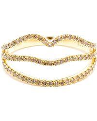 Rosa De La Cruz - Diamond Lip Shaped Ring - Lyst