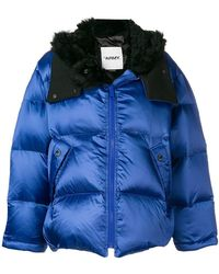 Army by Yves Salomon - Padded Hooded Jacket - Lyst
