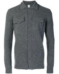 Eleventy - Press Stud Overshirt - Lyst