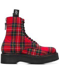 R13 - Plaid Boots - Lyst