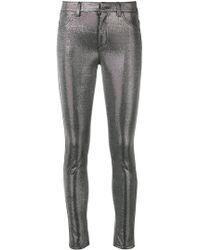 Dondup - Metallic Trousers - Lyst