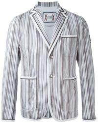 Moncler - Striped Blazer - Lyst