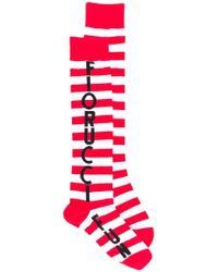Fiorucci - Striped Logo Socks - Lyst