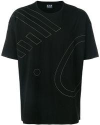 EA7 | T-shirt Ricamata | Lyst