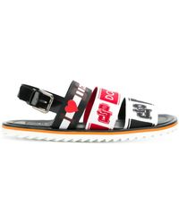 Dolce & Gabbana - Mediterraneo Sandals - Lyst