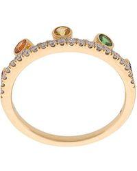 Khai Khai | Rainbow Crown Ring | Lyst