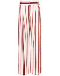 Maggie Marilyn - Striped Wide-leg Trousers - Lyst