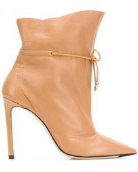 Jimmy Choo - Stitch Ankle Boots - Lyst