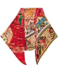 Pierre Louis Mascia All-over Print Scarf - Rood