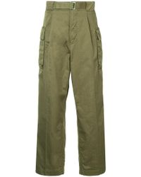 Hysteric Glamour - Military Trousers - Lyst