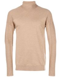Al Duca d'Aosta - Turtle-neck Fitted Sweater - Lyst