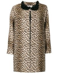 Antonio Marras - Leopard Printed Coat - Lyst