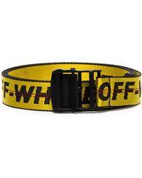 l'ultimo f993d 137e3 Cintura con logo Industrial - Giallo
