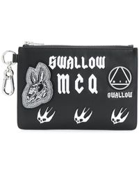 McQ - Applique Clutch Bag - Lyst