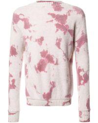 The Elder Statesman - Tie Dye Sweater - Lyst