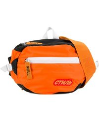 Heron Preston Shell Belt Bag - Orange