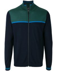 PS by Paul Smith - Colour Block Cardigan - Lyst