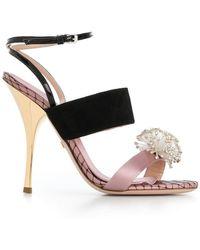 Giambattista Valli - Crystal Embellished Sandals - Lyst
