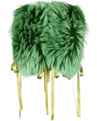 DSquared² - Raccoon Fur Stole - Lyst