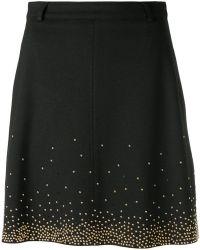 Versace Jeans - Beaded Skirt - Lyst