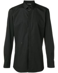 Neil Barrett - Pierced Ring Detail Shirt - Lyst