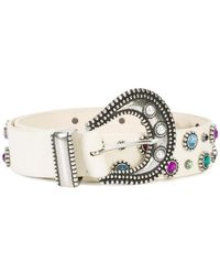 Dodo Bar Or - Embellished Belt - Lyst