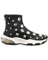 Valentino - Garavani Embellished Ankle Boots - Lyst