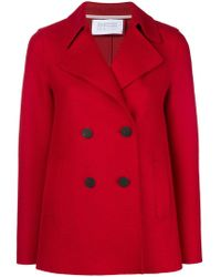 Harris Wharf London - Double Breasted Jacket - Lyst