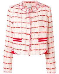 Pinko - Classic Tweed Jacket - Lyst