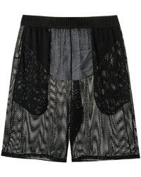 Amir Slama - Shorts mit Netz - Lyst