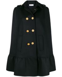 RED Valentino - Double Breasted Cape - Lyst