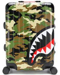 Sprayground - Shark Printed Travel Bag - Lyst