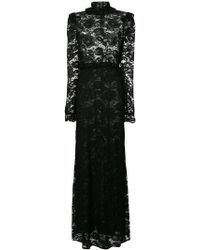 Francesco Scognamiglio - Lace Fitted Gown - Lyst