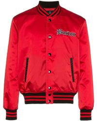 Marcelo Burlon - Red Sox Bomber Jacket - Lyst